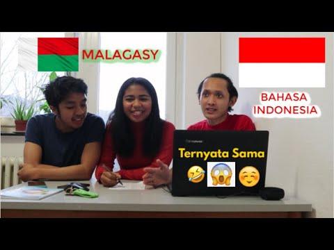 BARU TAU! TERNYATA BAHASA INDONESIA MIRIP SAMA BAHASANYA ORANG MADAGASKAR (MALAGASY) SURPRISED !!!
