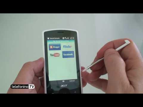 Acer E100 BeTouch videoreview da Telefonino.net