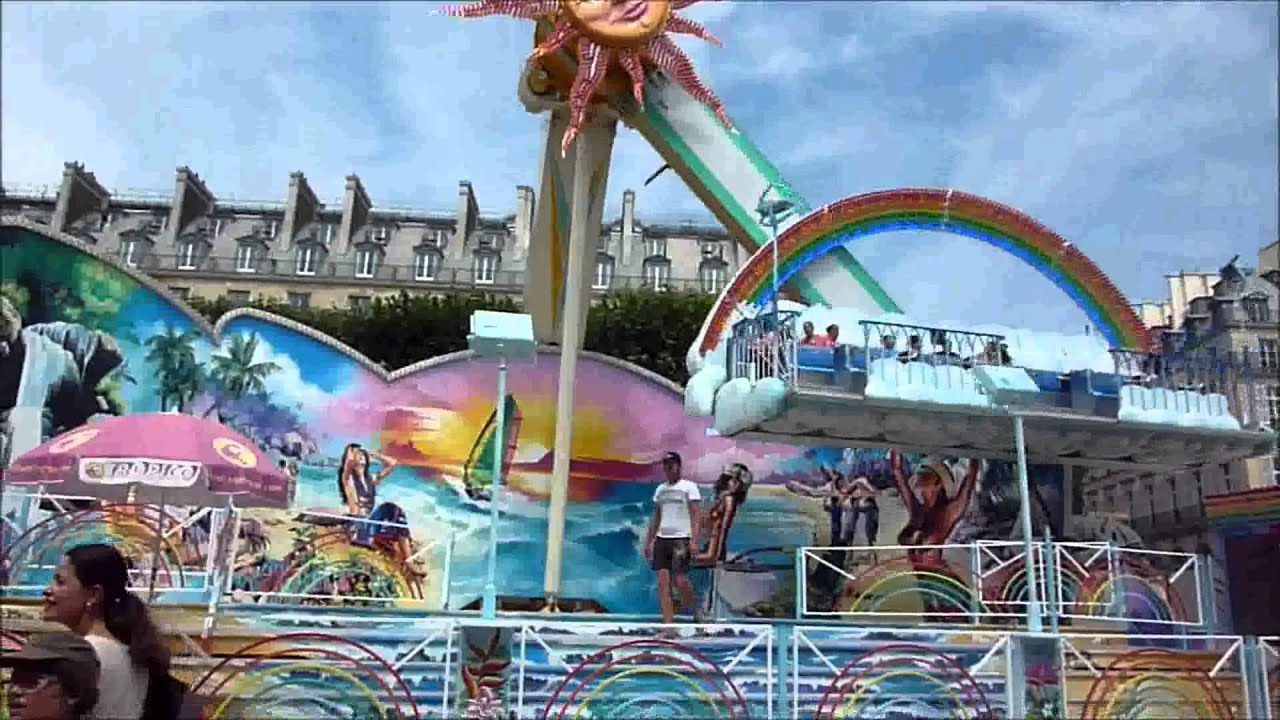F te foraine des tuileries 2013 youtube - Jardin des tuileries foire ...