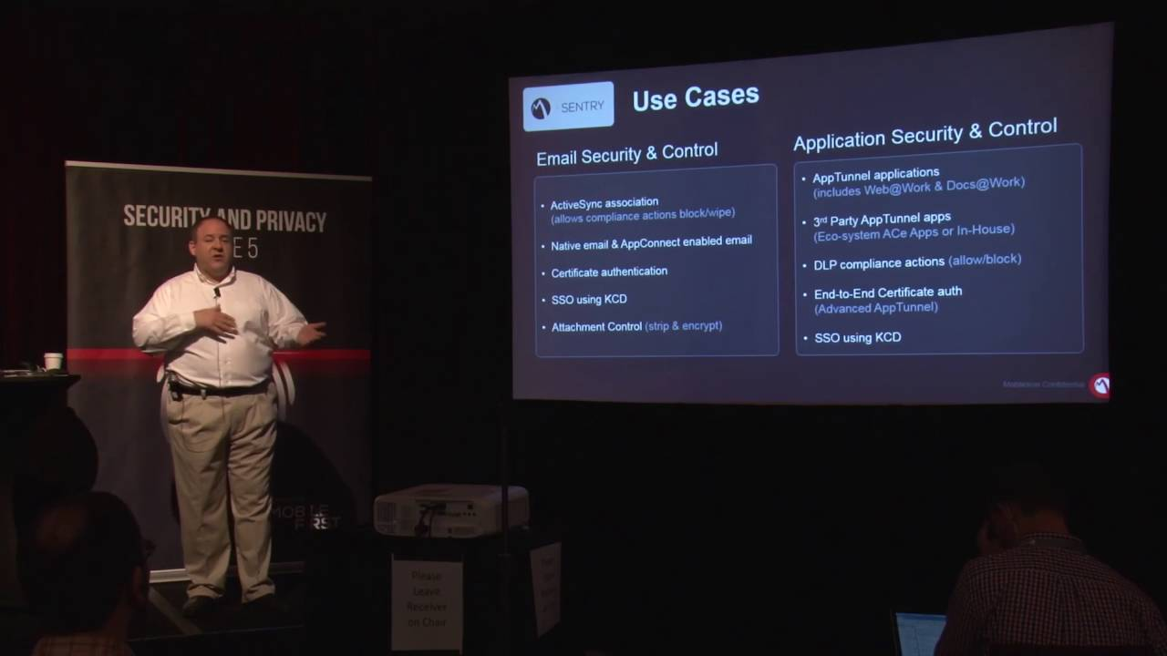 MFC 2016 - Do More with MobileIron Sentry Using Controlled Access Per App  VPN and App Tunneling