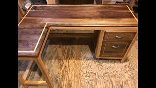 Walnut Desk Build