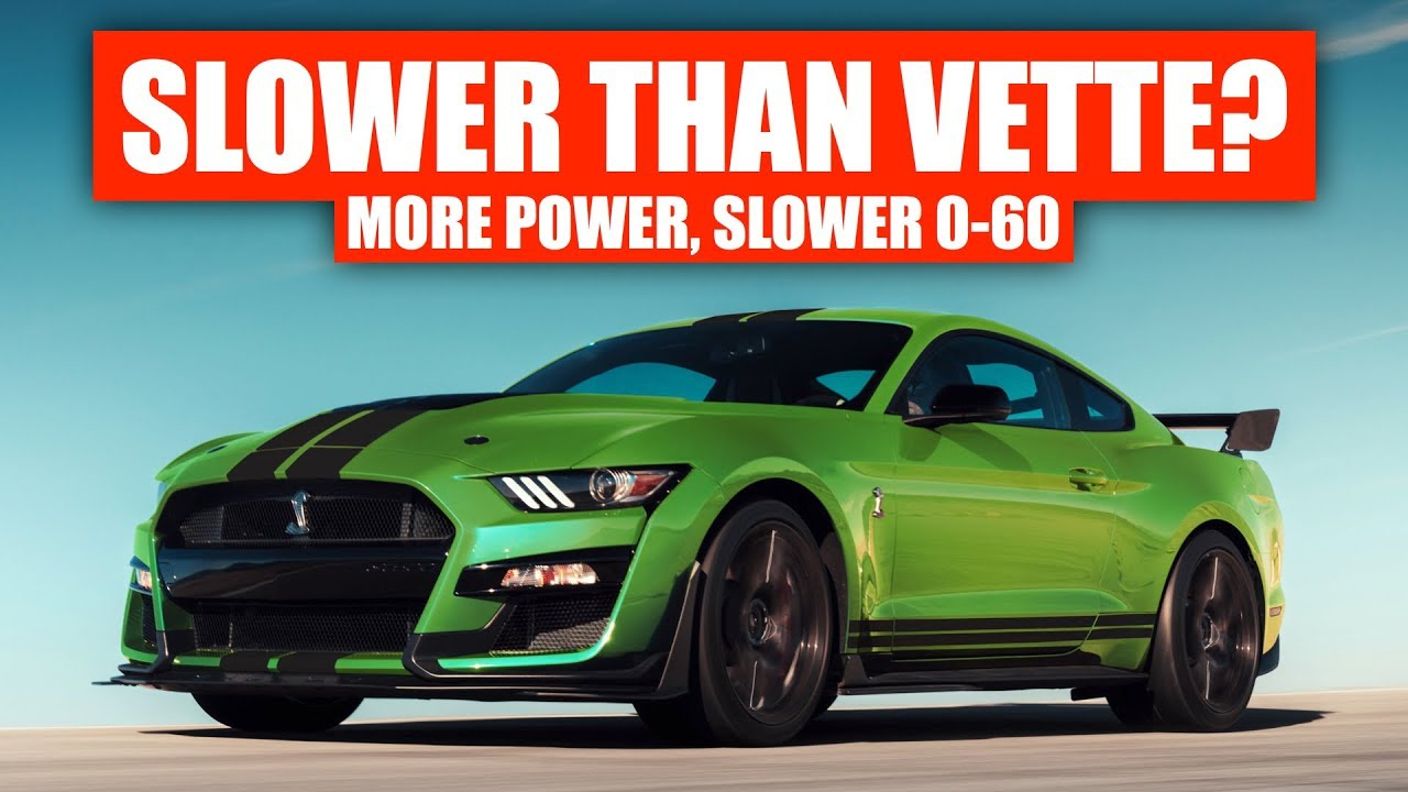 Mustang Gt 0 60 >> Mid Engine Corvette Vs Ford Mustang Gt500 Which Is Faster