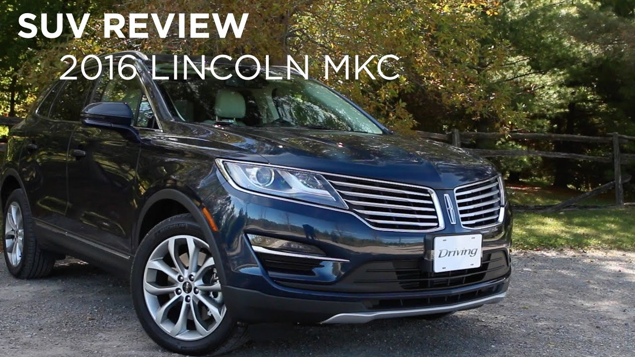 suv review 2016 lincoln mkc youtube. Black Bedroom Furniture Sets. Home Design Ideas