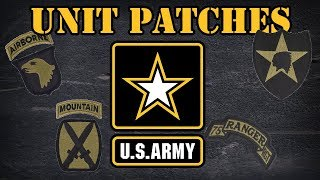 US Army Unit Patches