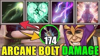 1140 Arcane Bolt Damage ULTIMATE REGEN | Dota 2 Ability Draft