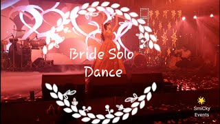 Bride Solo on Sangeet Surprise Dance Performance// Jogi Female Version// Nit Khair manga