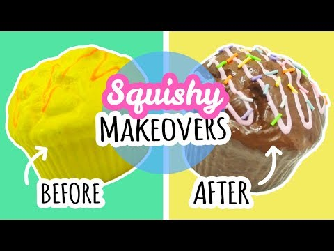 Squishy Makeovers #2 | Redecorating Cheap Squishies