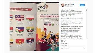 Begini Reaksi Kemarahan Netizen kepada Malaysia Atas Insiden Bendera RI Terbalik