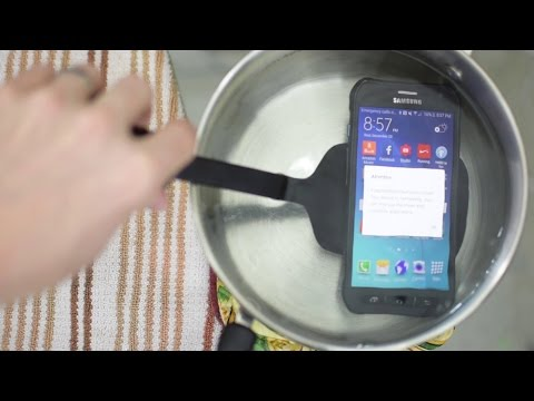 Can the Galaxy S6 Active survive boiling water ?