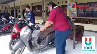 Dua Pemuda di Brebes Curi Motor di Masjid