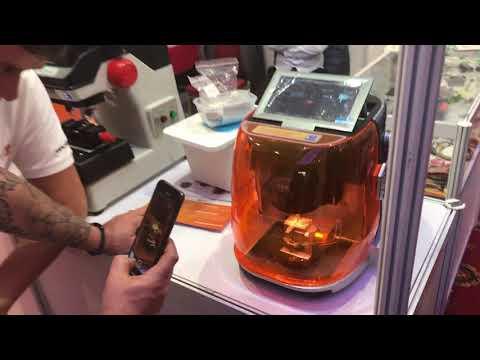 IKS 2019 Trade Show Key-cutting Machine