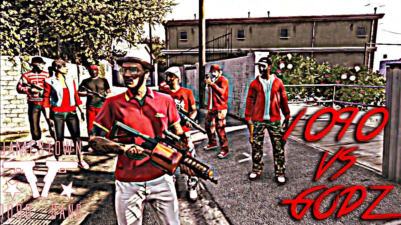 GTA 5 Online - Crew Battle - J...