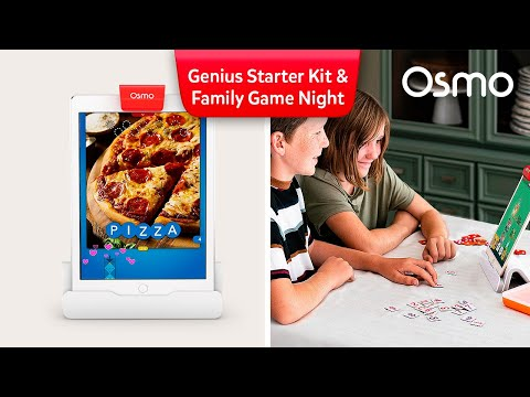Introducing the Osmo Genius Starter Kit + Family Game Night