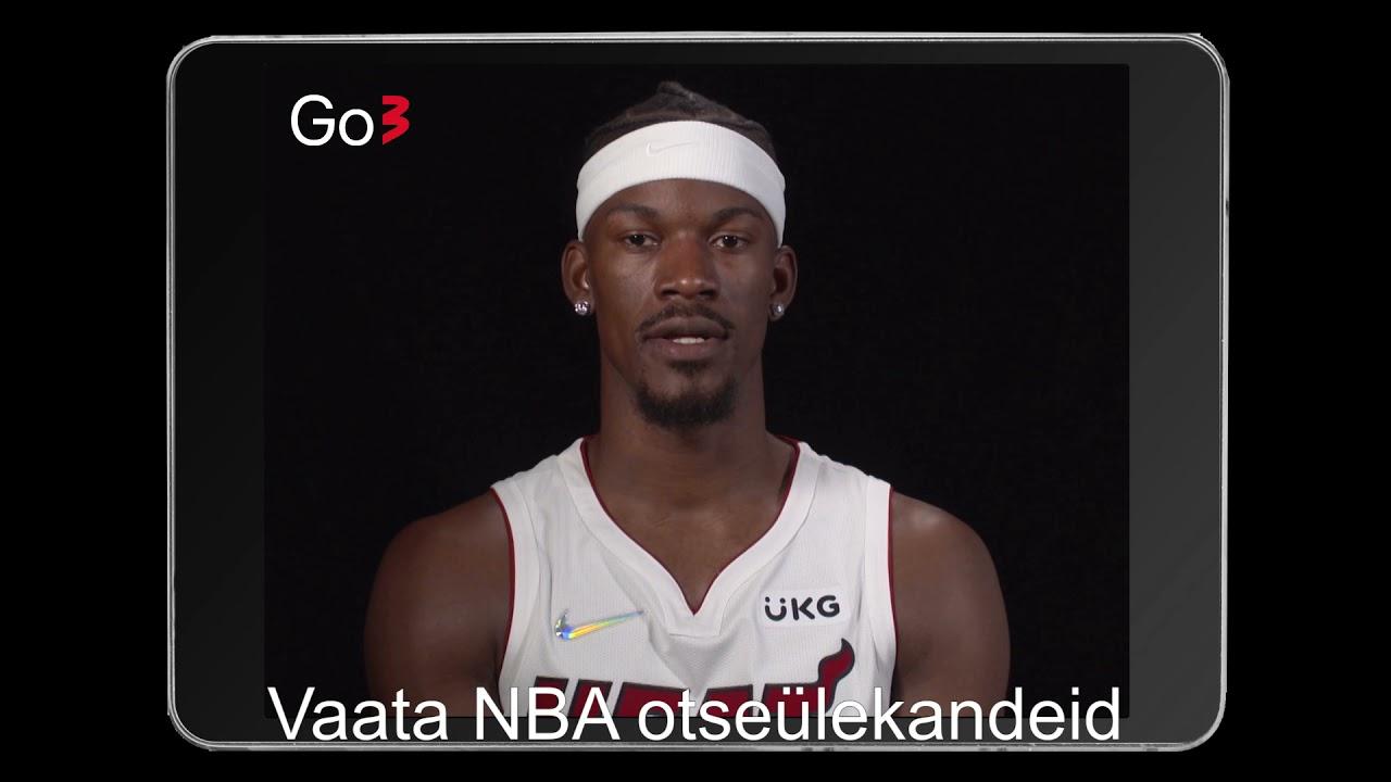 Jimmy Butler kutsub Go3 vahendusel NBA-d jälgima!