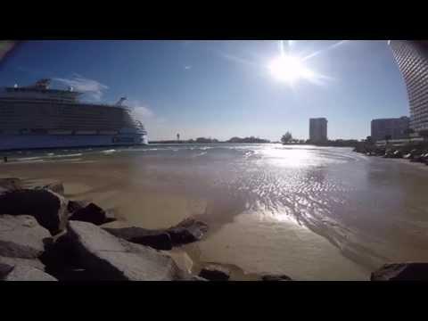 Allure of the Seas Tsunami Port Everglades