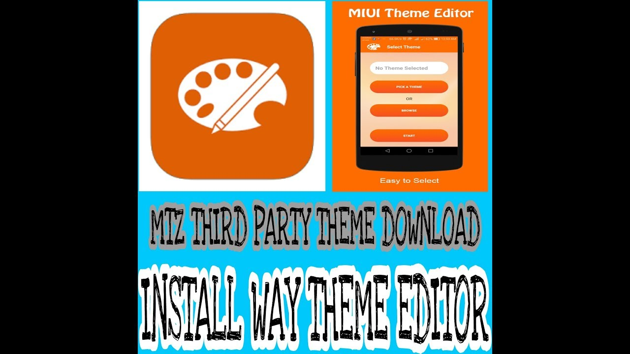 How to Edit MTZ 3rd party Themes From MIUI Theme Editor