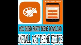 How to install third party themes on miui devices miui theme