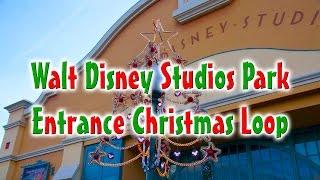 Download Walt Disney Studios Park Entrance Christmas Loop MP3 song and Music Video