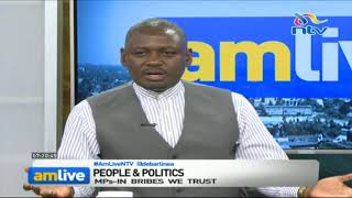 Otiende Amollo denies the handshake influenced rejection of sugar scandal report