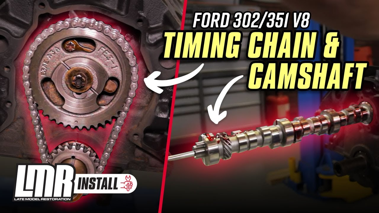 How To Install 302/351 Mustang Camshaft & Timing Chain (79-95)