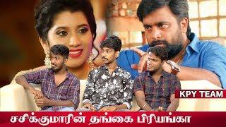 விஜய் டிவியே கல்யாணம் பண்ணி வச்சிடும்..! | KPY Tamilarasan & Team | Kings Of Comedy Trainers
