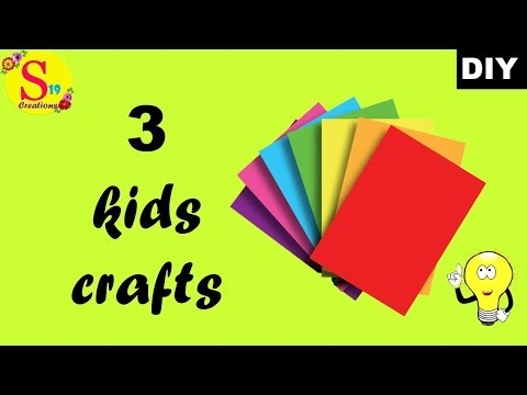 3-kids-crafts-with-paper-|-easy-paper-crafts-to-make-at-home-|-crafts-with-paper-for-kids-easy