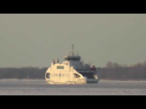 Ferry line Munalaid- island Kihnu. (winter season)
