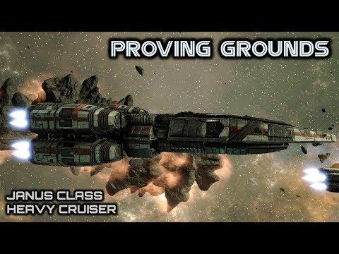 Battlestar Galactica: Janus Class Heavy Cruiser - Deadlock Proving Grounds - Spacedock