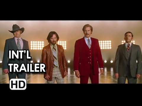 Anchorman 2: The Legend Continues International Trailer #1 (2013)