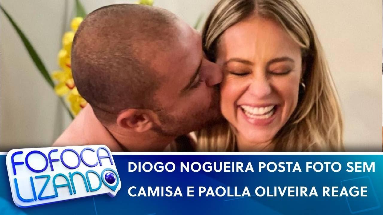 Diogo Nogueira posta foto sem camisa e Paolla Oliveira reage com emoji   Fofocalizando (30/07/21)