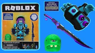 Roblox Toy Andromeda Explorer + Code Item