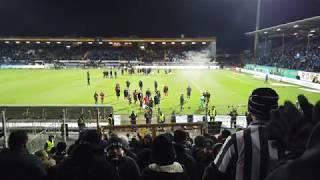 Fc.St.Pauli Fan-Support - die Mannschaft in der Kurve ! Darmstadt - Fc St Pauli - 29.01.2019