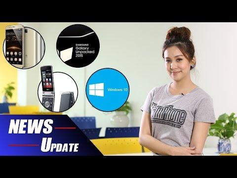 [NEWS] : ข่าวมือถือ ข่าวไอที Huawei G8/Galaxy Unpacked/LG Gentle/Windows 10 by SiamPhone (7 ส.ค.58)
