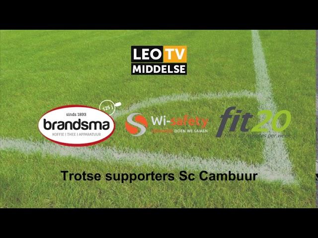 Nabeschouwing Sc Cambuur Fc Dordrecht Kelian Van Der Kaap Youtube