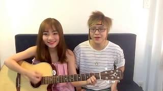 Min - Hôn Anh  | guitar cover by Minh Moon Hà ft Thạch Thảo