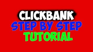 Clickbank Affiliate Marketing Step By Step Without Website