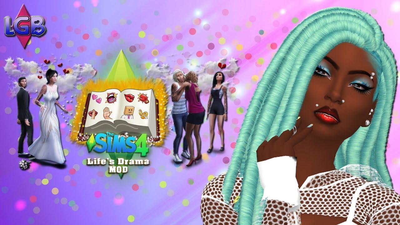 The Sims 4: Life s Drama Mod YouTube