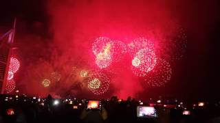 New year celebration at Burj al Arab Part 3 Hd 4k 1080p