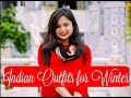 Indian Ethnic Winter Fashion Ideas | Ethnic Winter Wear Lookbook | Winter Outfit Ideas