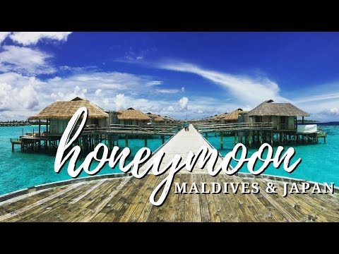 Honeymoon in the Maldives and Japan