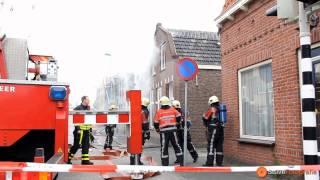 Woningbrand Middelbrand) Kardinaal van Rossumstraat in Dongen (2013-05-14)
