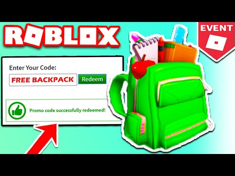 New Roblox Promo Code October 2020 Promocodes How To Get The Fully Loaded Backpack Roblox August 2020 Working Promocodes New Youtube