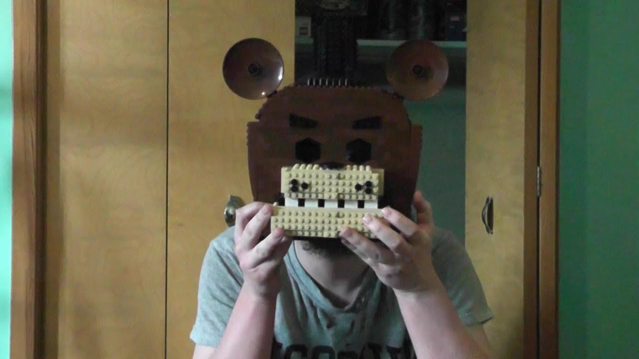 minecraft 5 ninjas of freddy fazbear mask