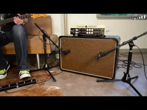Yamaha THR100HD - dialling in dual amps