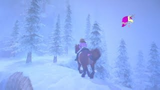 Chasing A Snow Yeti ?! Valley Of The Hidden Dinosaur  Star Stable Online Horse Video Game