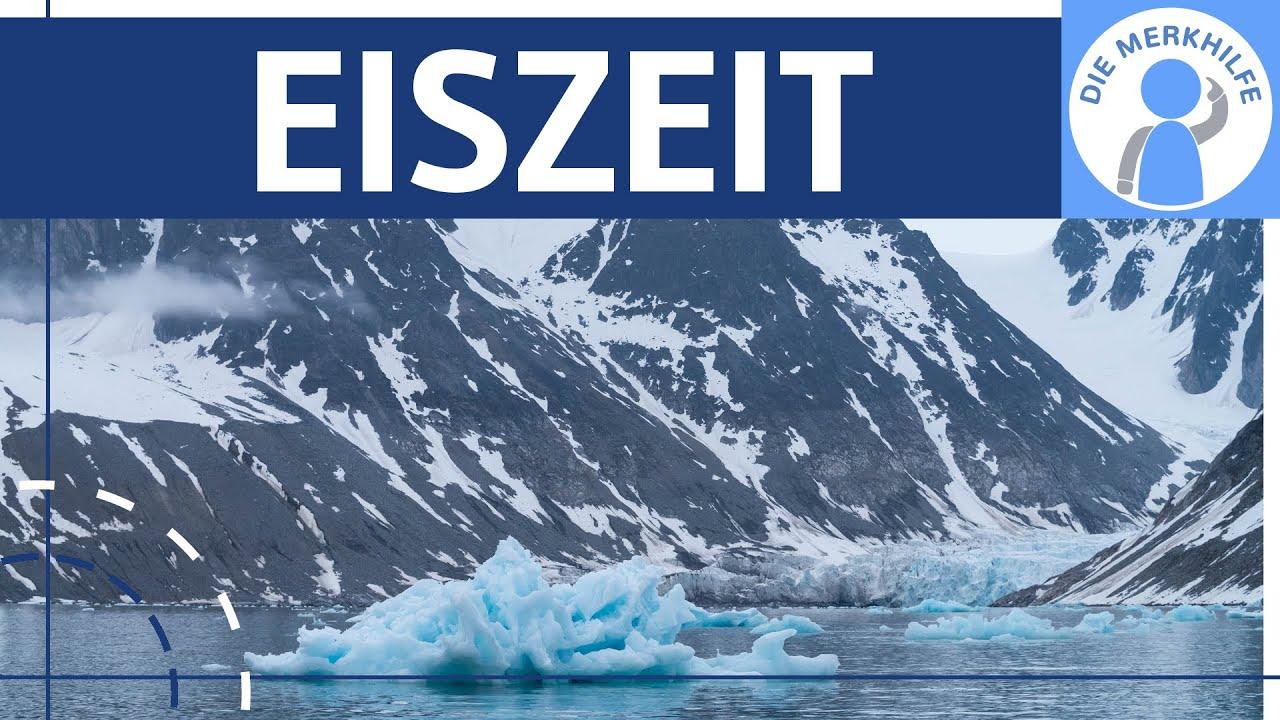 Download Eiszeit - Begriff, Ursachen, glaziale Formen & Eiszeit in Europa einfach erklärt - Klima / Geografie