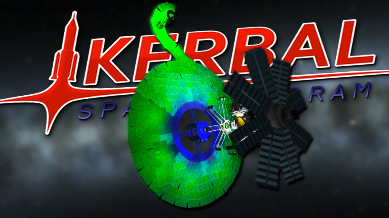 SEPTIC SPACE STATION   Kerbal Space Program 38 - YouTube