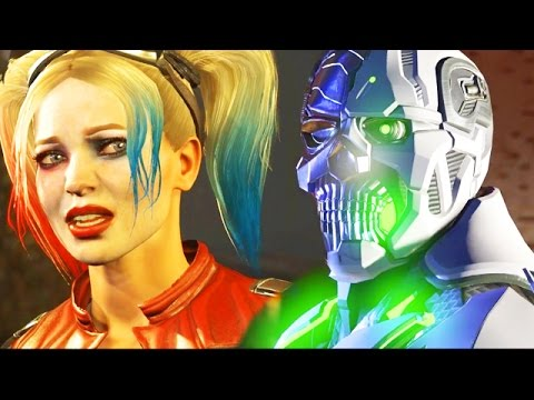 """GRID IS BORN! GOTHAM CITY SIRENS REUNION - Injustice 2 Story Mode """"Catwoman""""& """"Cyborg"""" Chapter 7"""
