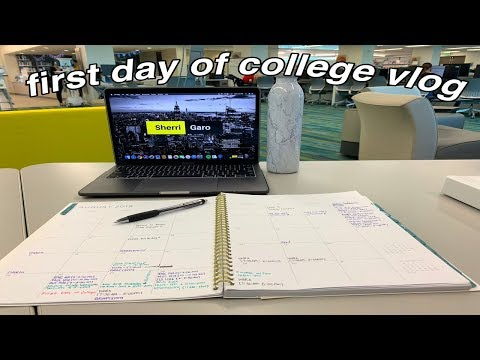 First Day Of College Vlog | Miami Dade College