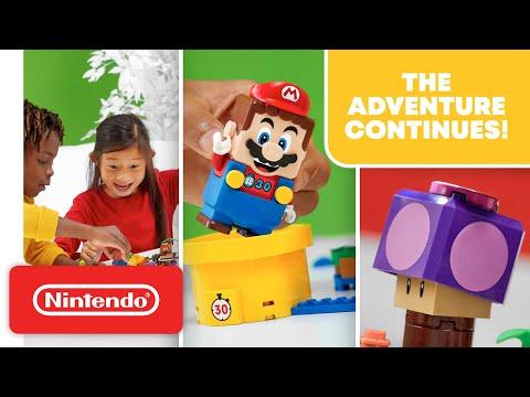 LEGO Super Mario - January 2021 Release Trailer - Nintendo Switch